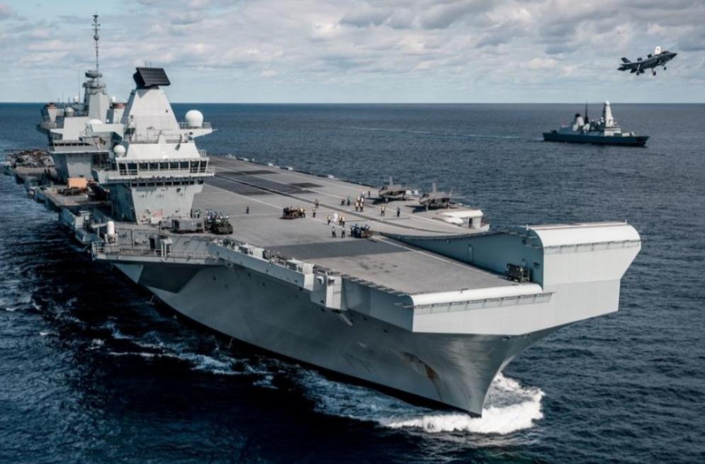 英軍想來威懾中國,不料戰艦半路上壞掉了! 最後狼狽返航