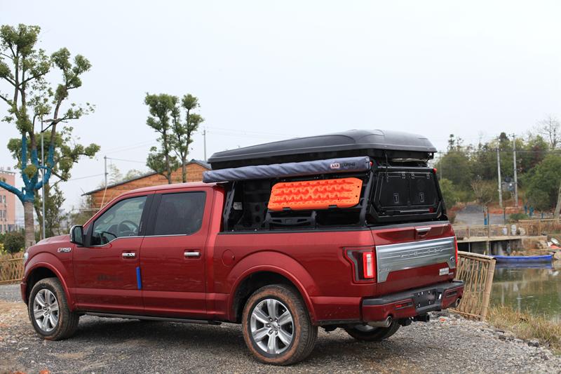 福特F150旅行工具车在手,越野生活说走就走
