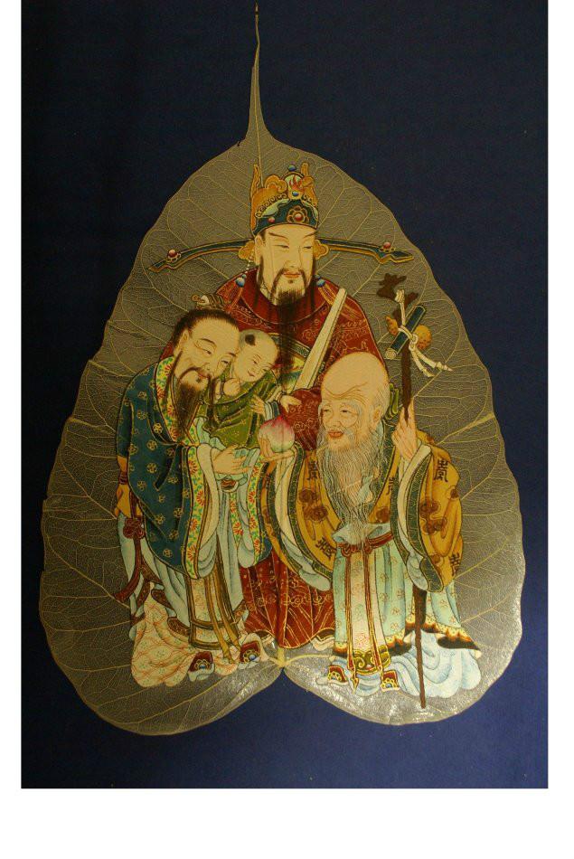 庄严臻美《佛教题材绘画作品》刘章崑