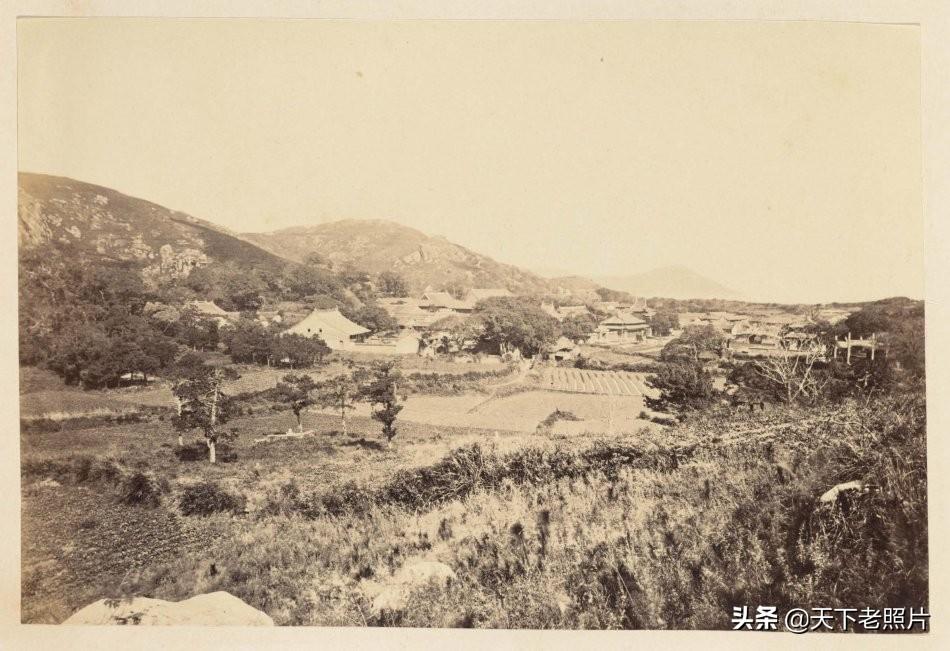 1876-1895年的 优美静谧的浙江普陀山老照片