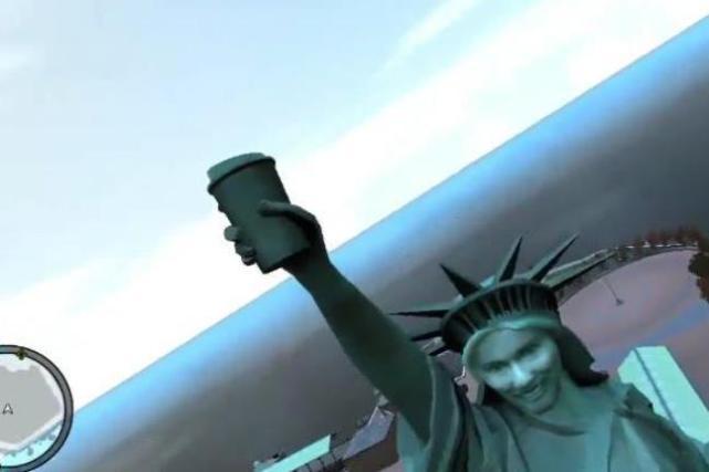 《GTA4》最冒险的一个彩蛋,自由女神像内部藏有什么东西?