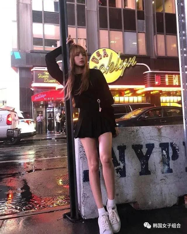 身高166cm的,女团爱豆的比例,大长腿也太绝了