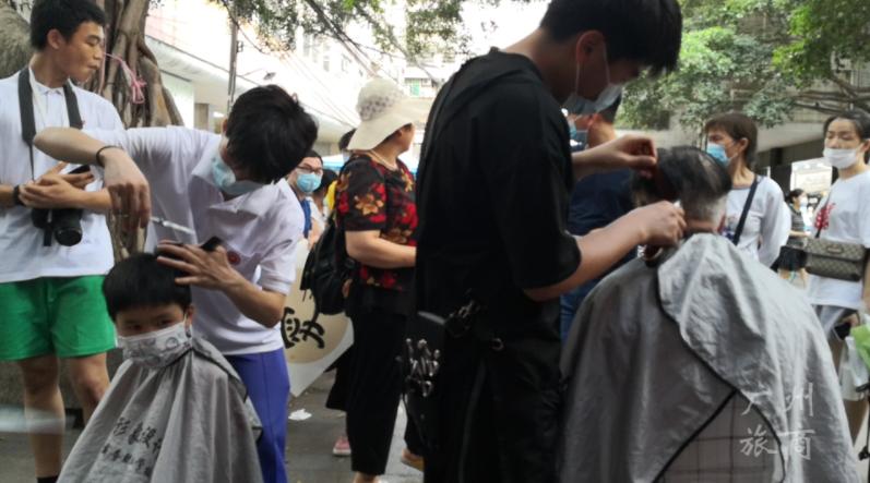 广州市旅游商务职校:传媒与形象设计系党支部惠民服务专题报道