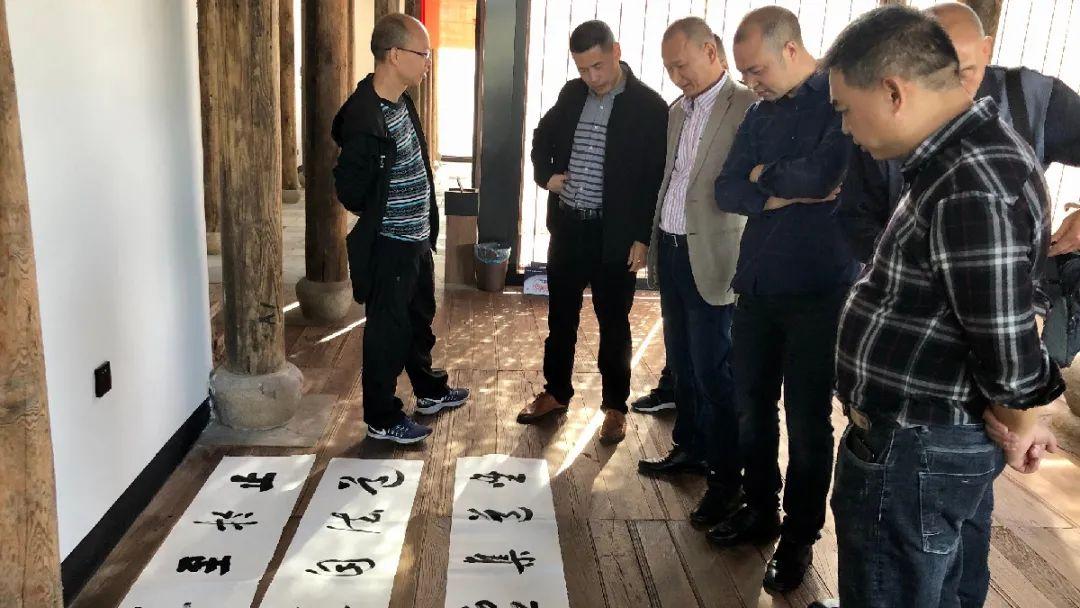 纪念中共闽浙边临时省委成立85周年主题书法展隆重开幕