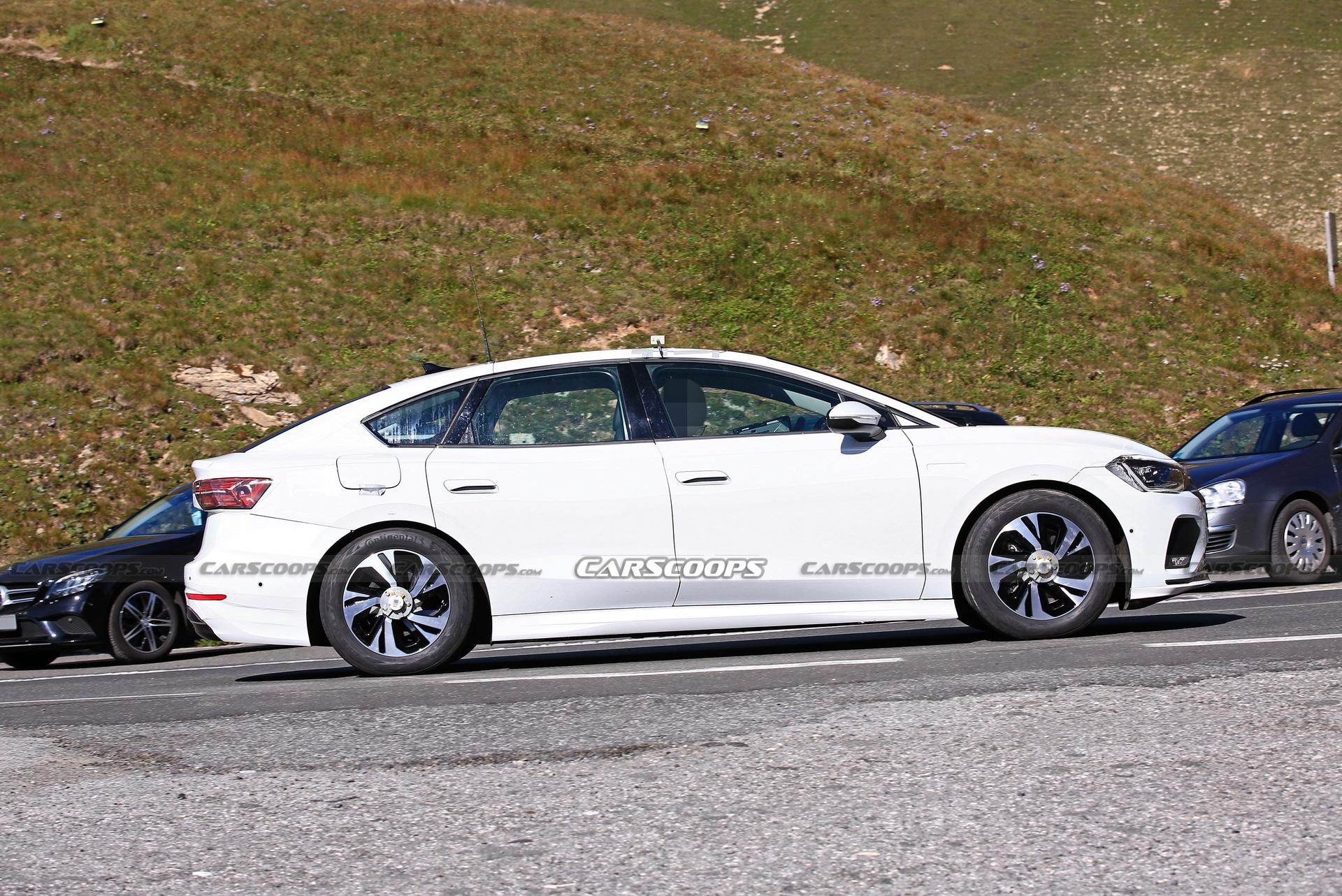 新时代的曙光,大众全新纯电动中型轿车测试谍照曝光