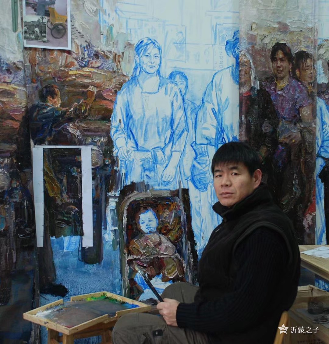 绽放艺术之光——著名油画家咸兰光印象
