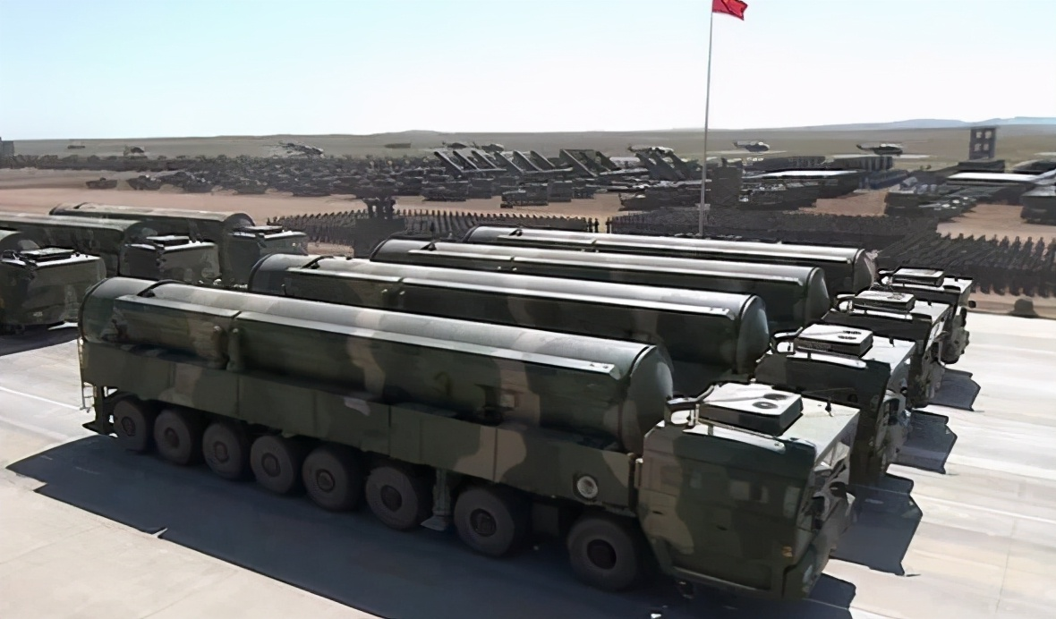 央視曝光:7枚洲際導彈一字排開,全球僅少數國家有這種氣場