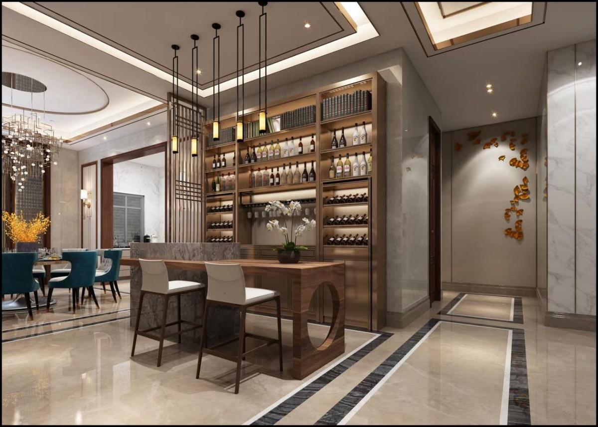 现代中式豪宅装修,品味东方典雅,传达中式韵味意境之美