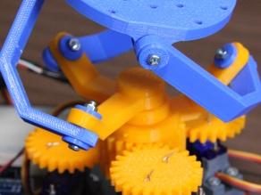球面并联结构平台3D打印图纸 STL格式