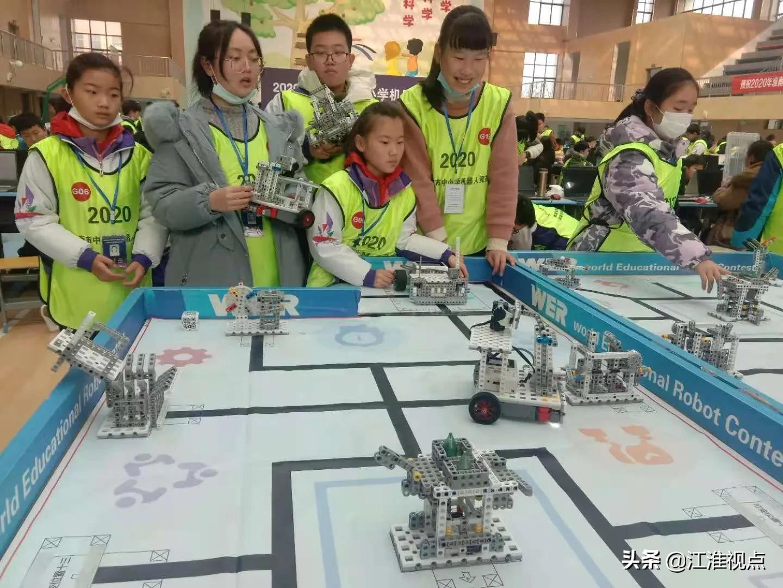 淮南市举办2020年中小学机器人竞赛