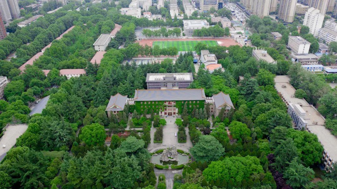 雁塔的那抹绿,是来自陕师大这所绿色花园