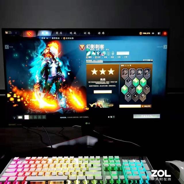颜色与速率的极致融合 LG第一款NanoIPS电竞显示器多强?
