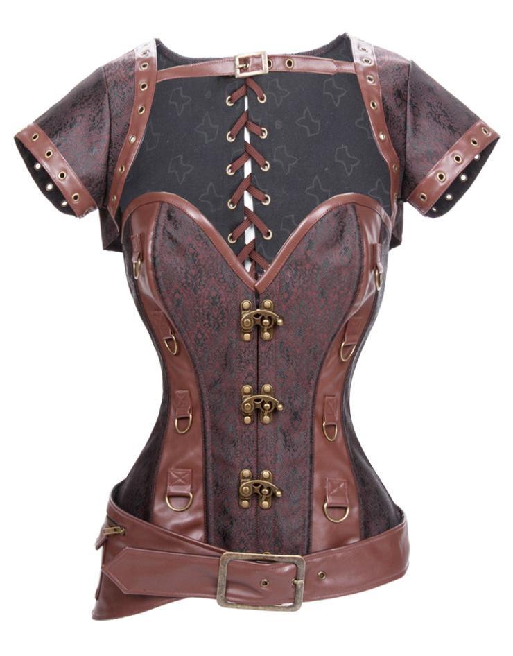 中西方古代胸衣用什么材质制作的?丝绸锦缎和鲸骨金属
