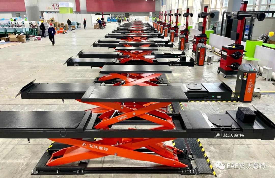 艾沃意特全力为第一届全国职业技能大赛提供设备保障