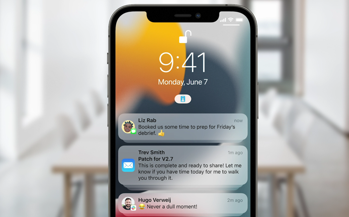 苹果 iOS 15 正式发布:全新通知界面,天气、照片、钱包大改进