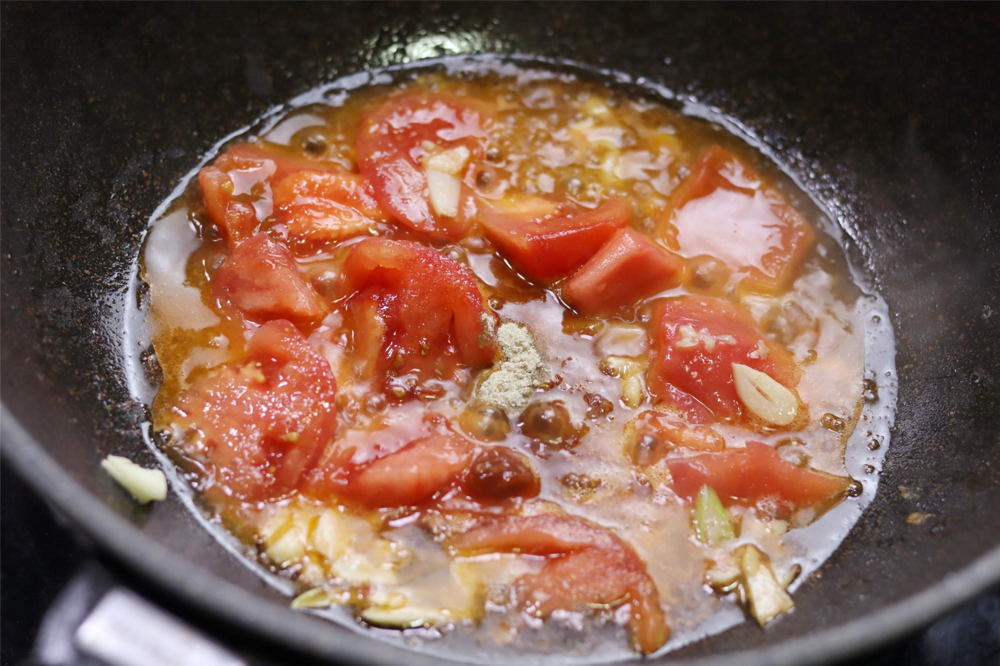 小两口的极简晚餐,2菜1汤,吃得饱饱又不浪费,省事儿 美食做法 第8张