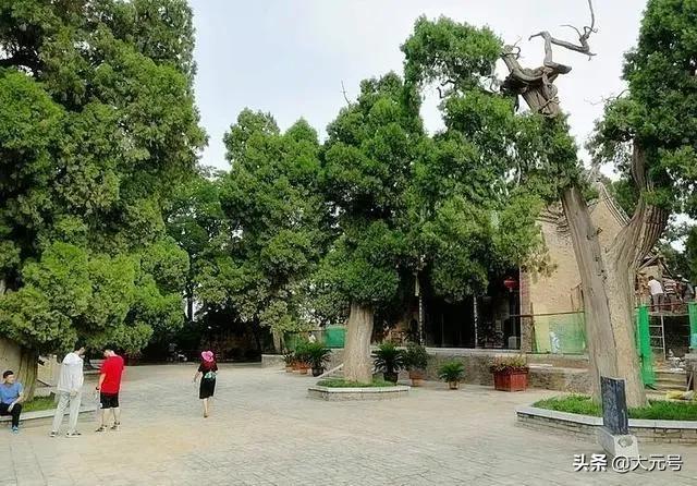 陕西白水县,有历史悠久规模宏大的仓颉庙