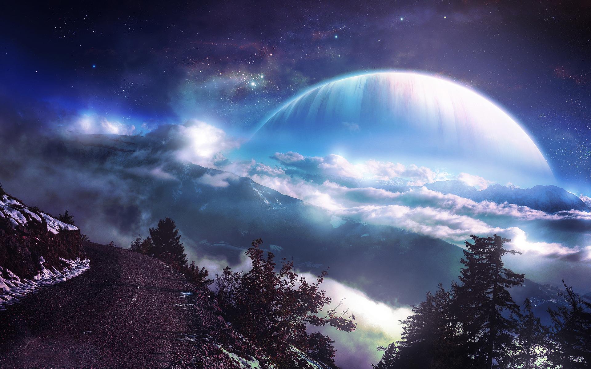 哈勃望远镜指向宇宙深处,发现未见画面,冰蓝巨星上形成最强风暴