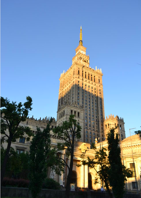 淡淡的波蘭(4):淡如菊的首都-華沙