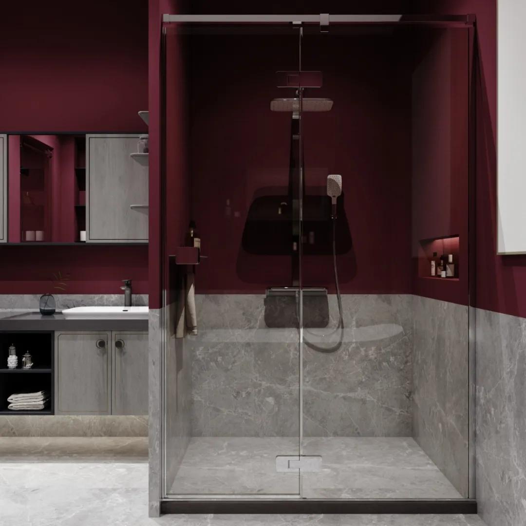 """鯨品設計   浴室裝修用口紅色號""""梅子色""""?眼前一亮啊"""