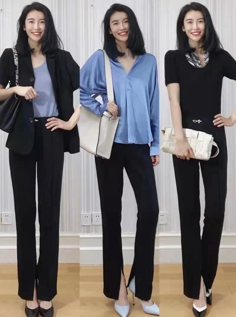 夏日穿裤子就选这几条,时髦好看又利落显瘦,通勤、日常都兼可
