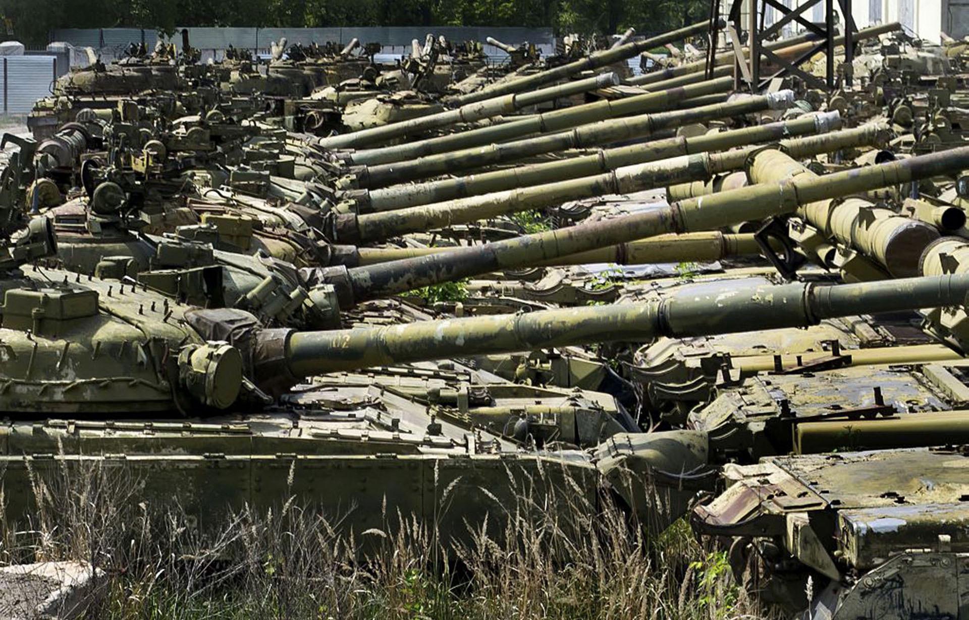 坦克退役后怎么处理?美军财大气粗,俄军简单粗暴,我军勤俭持家