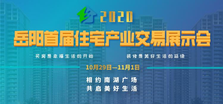 「直通住交会」2020岳阳首届住交会,拍了拍你