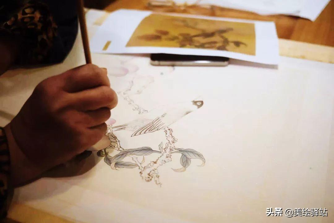 这样的中国画,简直太美了!零基础也能学