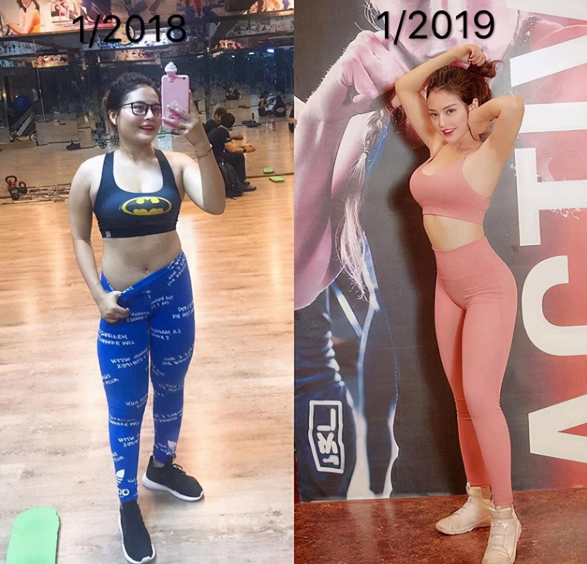 越南美女Nguyen1年减掉20斤打造出蜂腰翘臀欧美身材