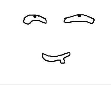流口水简笔画表情包