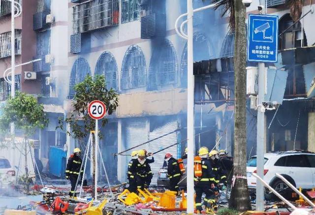 突发!广东珠海市斗门区白藤头一酒店附近发生爆炸!事故造成3人受伤,暂无人员遇难