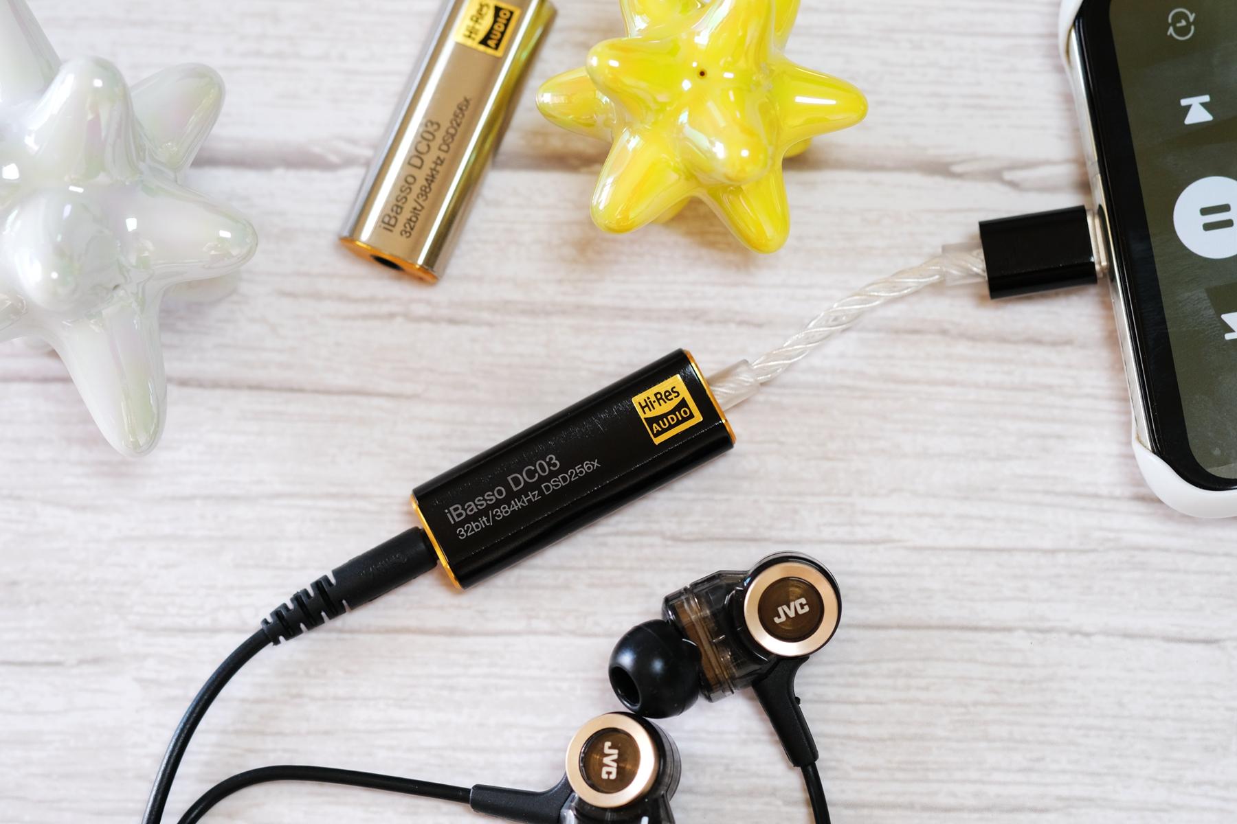 音质一耳朵的提升,艾巴索 DC03 解码耳放使用评测