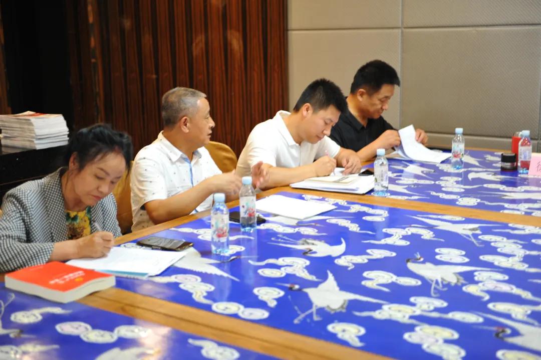 龙商党建|商会党委一届五次委员工作会议在龙商会馆召开