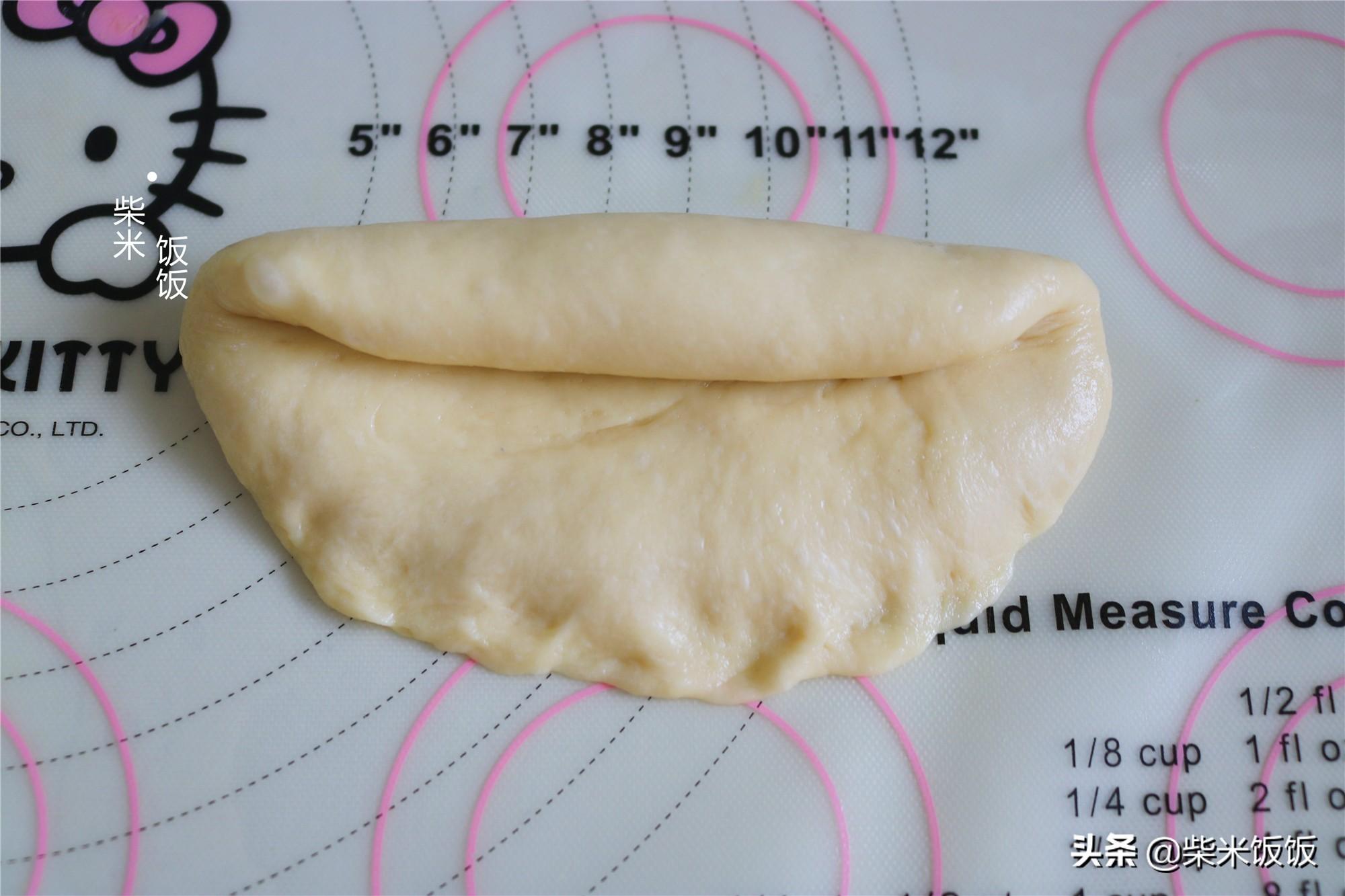 别给孩子买面包了,自己在家做,一次发酵,做法简单,香软好吃