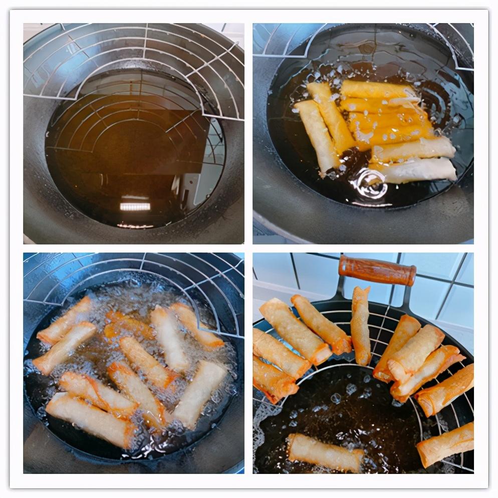 年夜飯首選炸春捲,外皮酥脆掉渣,2種口味,餅皮到餡料詳細介紹