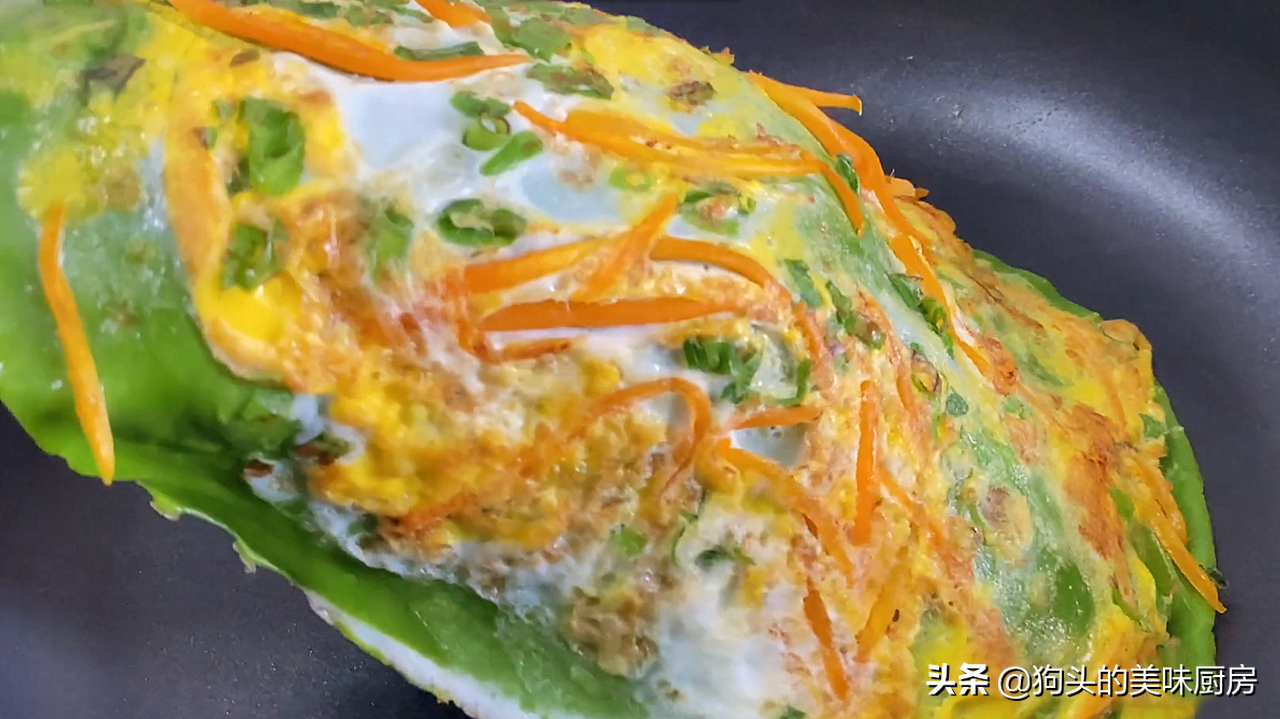 我家最爱的早餐之一,筷子搅一搅,2分钟出锅,好吃营养又均衡