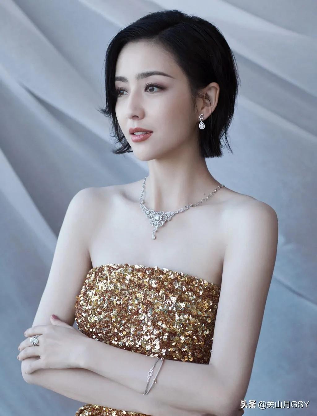 漂亮的佟丽娅