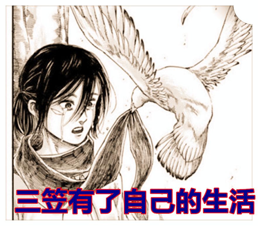 《進擊的巨人》新增劇情,諫山創讓三笠帶孩子看望艾倫,帕島毀滅