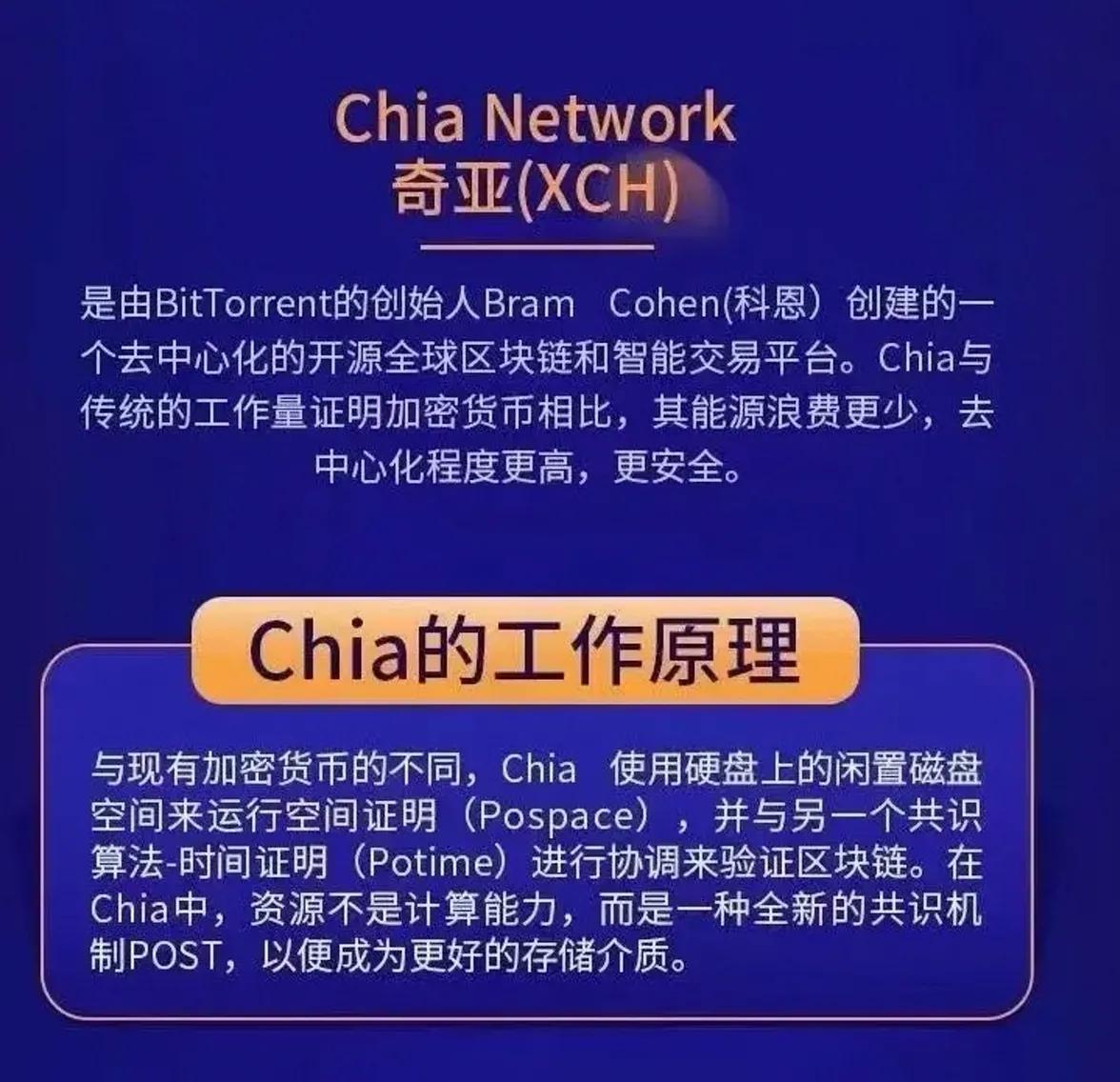 Chia(奇亚)矿机优势