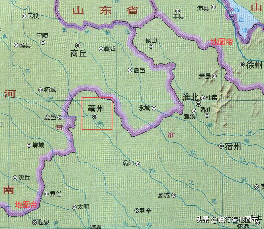 曹操是沛国谯人,在现在什么地方,为何东汉非常看重此城?