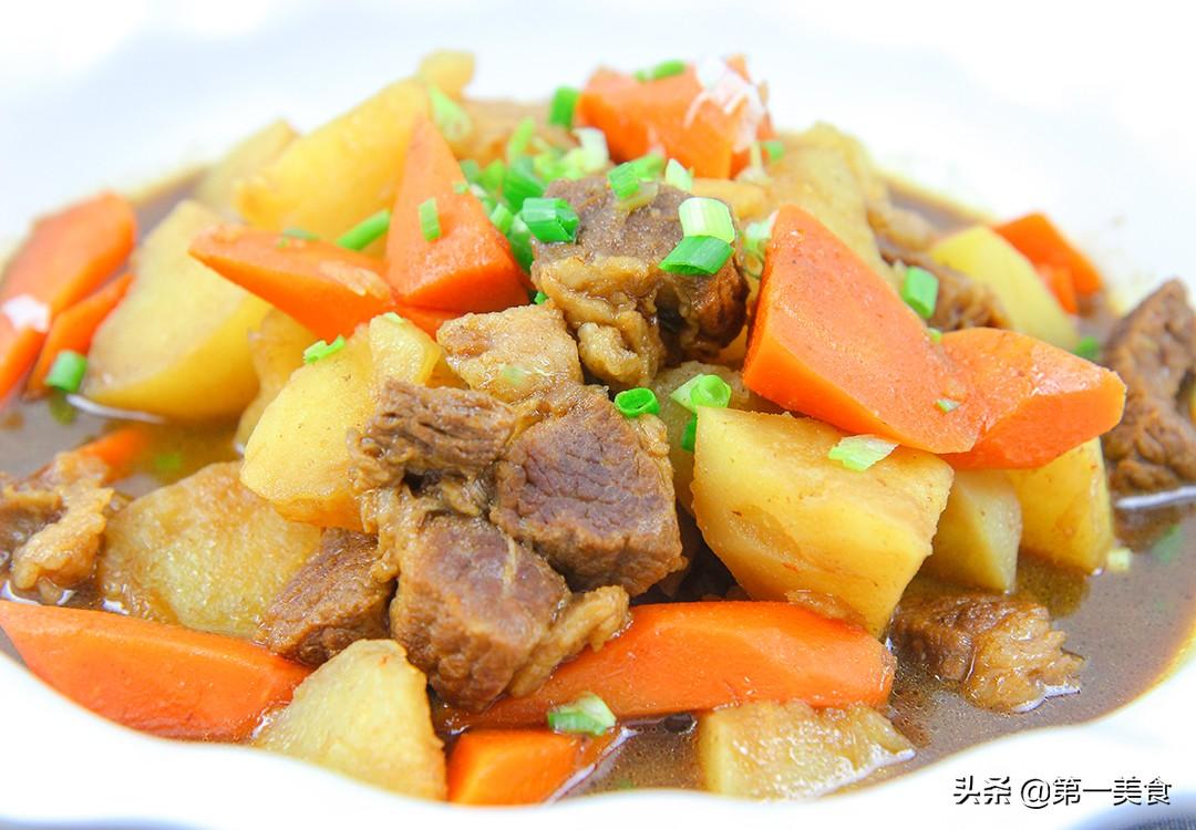 【牛腩炖土豆】做法步骤图 鲜嫩不腥 汤汁浓香