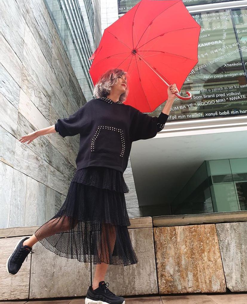 秋天怎样穿裙子?跟50岁+时尚达人学4种搭配,让浪漫优雅延续