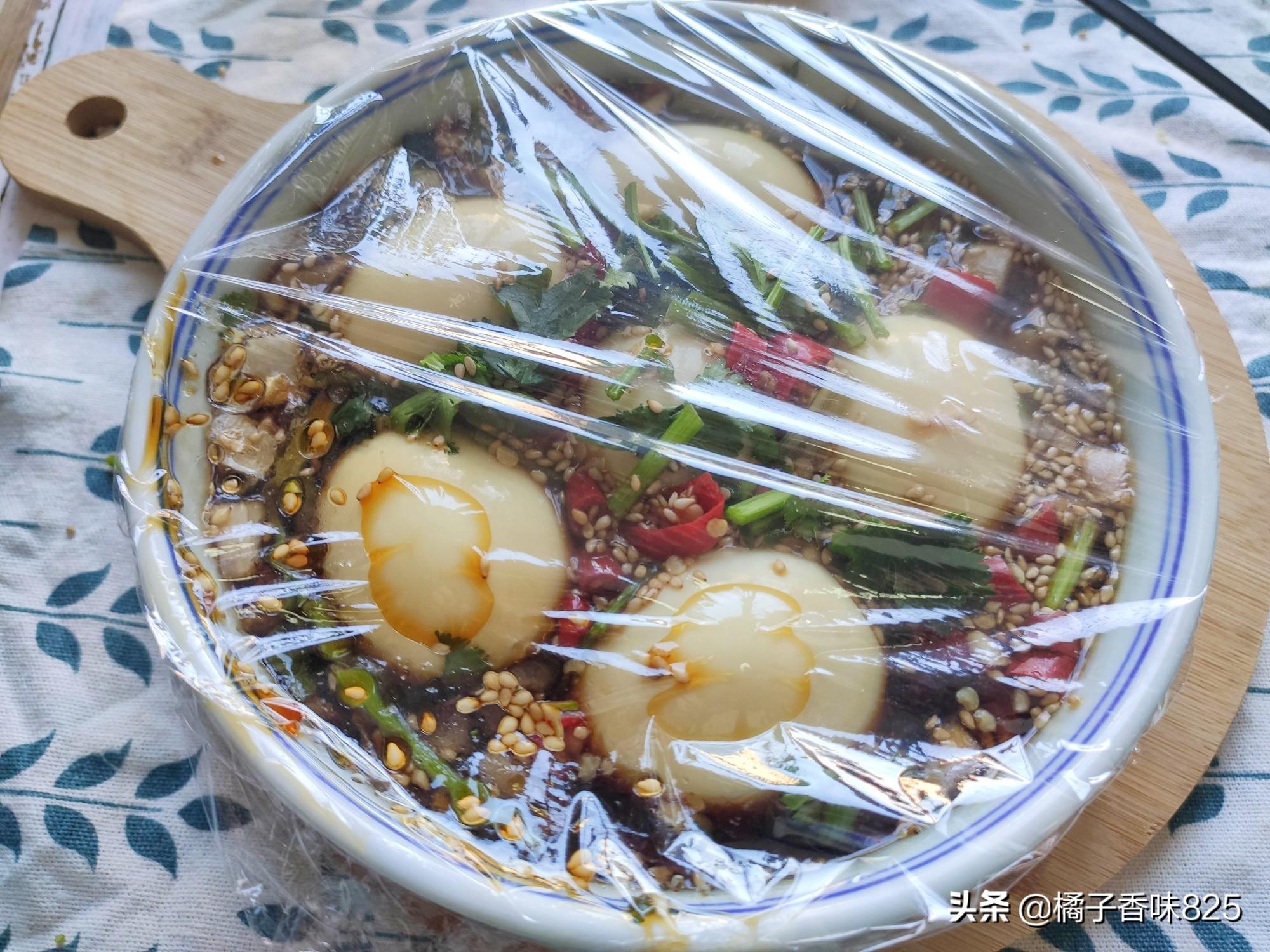 鸡蛋新吃法,比白水煮蛋好吃多了,浸泡一晚更入味,与米饭绝搭 美食做法 第6张