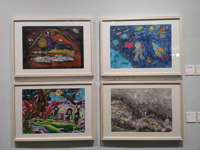 2020陕西省群众文化节暨全省少儿美术作品线下展览开幕