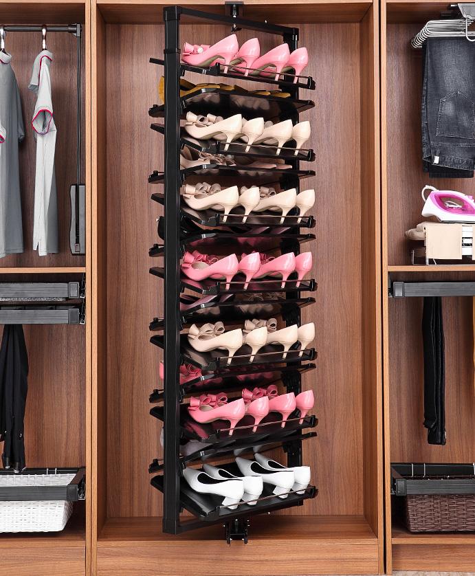 鞋柜怎么设计好?这一份鞋柜定制攻略,全面为你解析