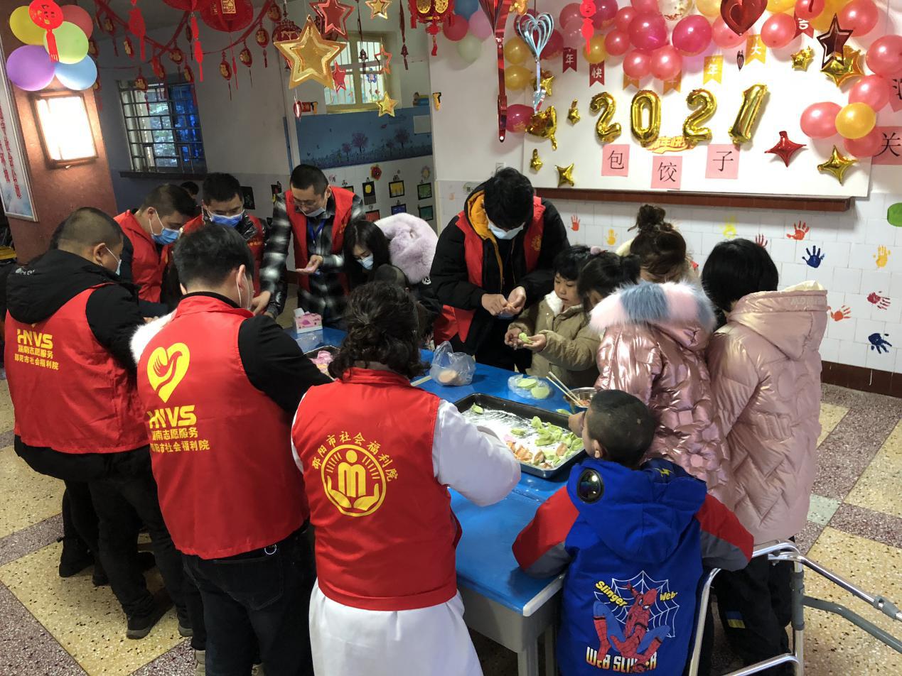 """邵阳市社会福利院开展""""浓浓关怀、情暖童心""""关爱孤残儿童活动"""
