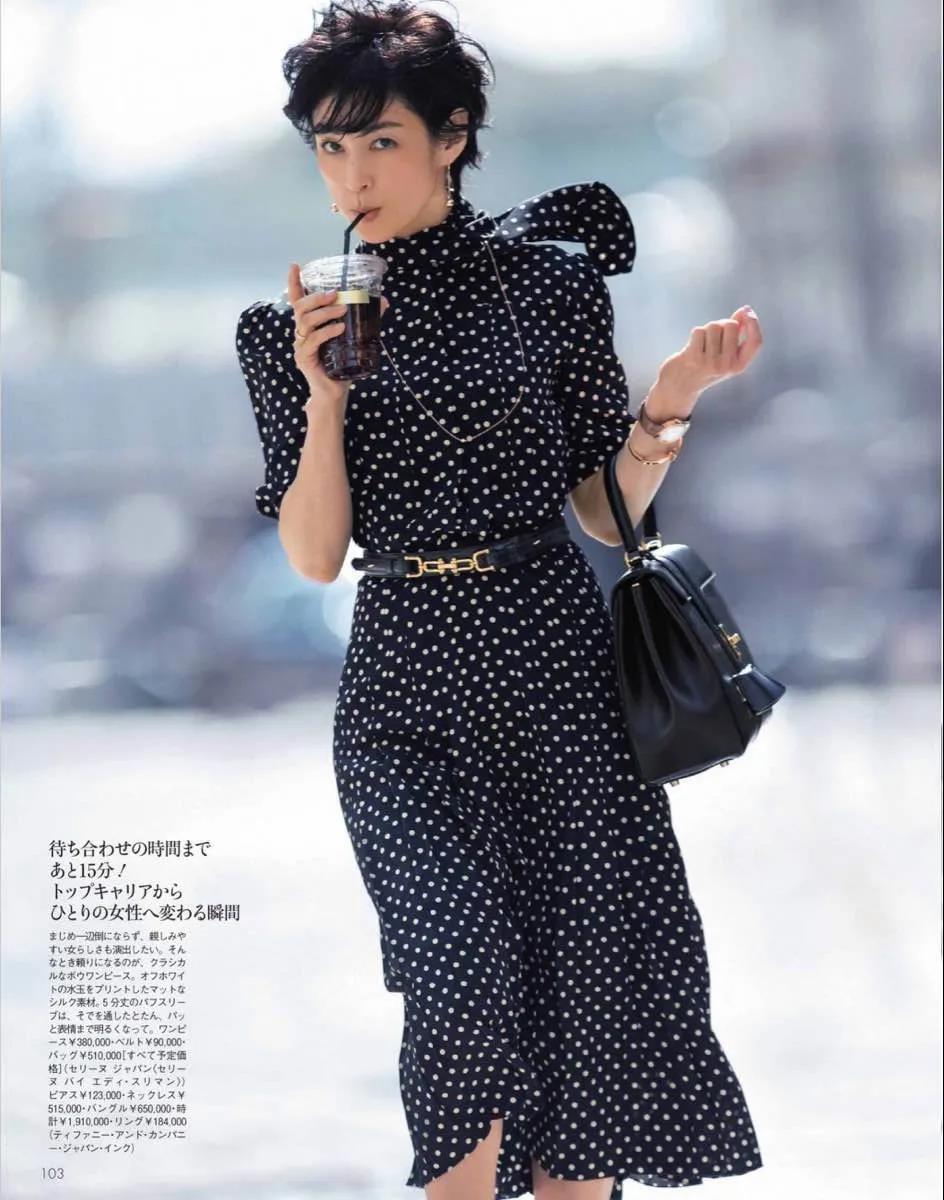 25岁红遍亚洲,54岁成时尚穿衣榜样,这才叫岁月打不败的美人