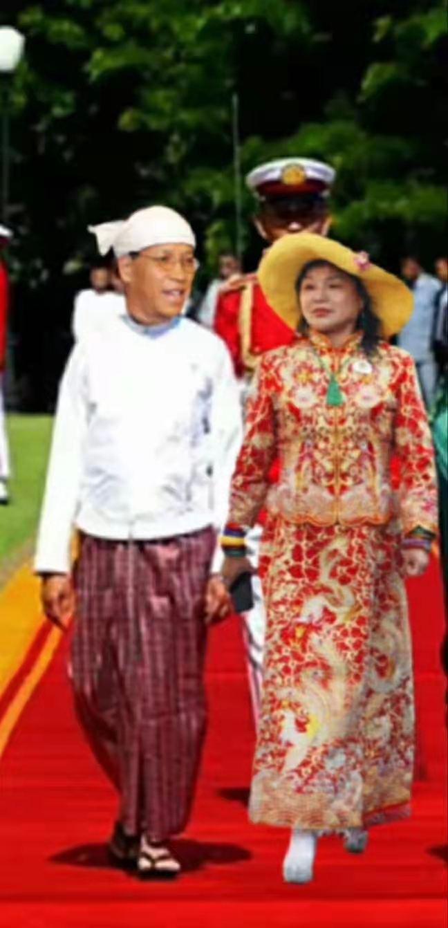缅甸国家联邦共和国赛茂康总统在缅甸总统府新春贺词