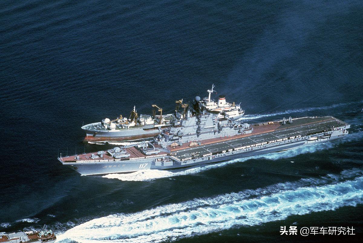 苏联共造了9艘航母 其中三艘现在中国