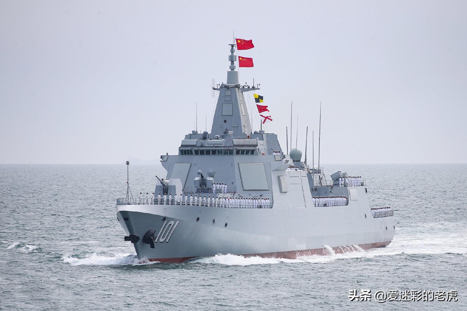 解放军一天入列三艘主战舰艇,外媒称可以写入历史,创造了记录